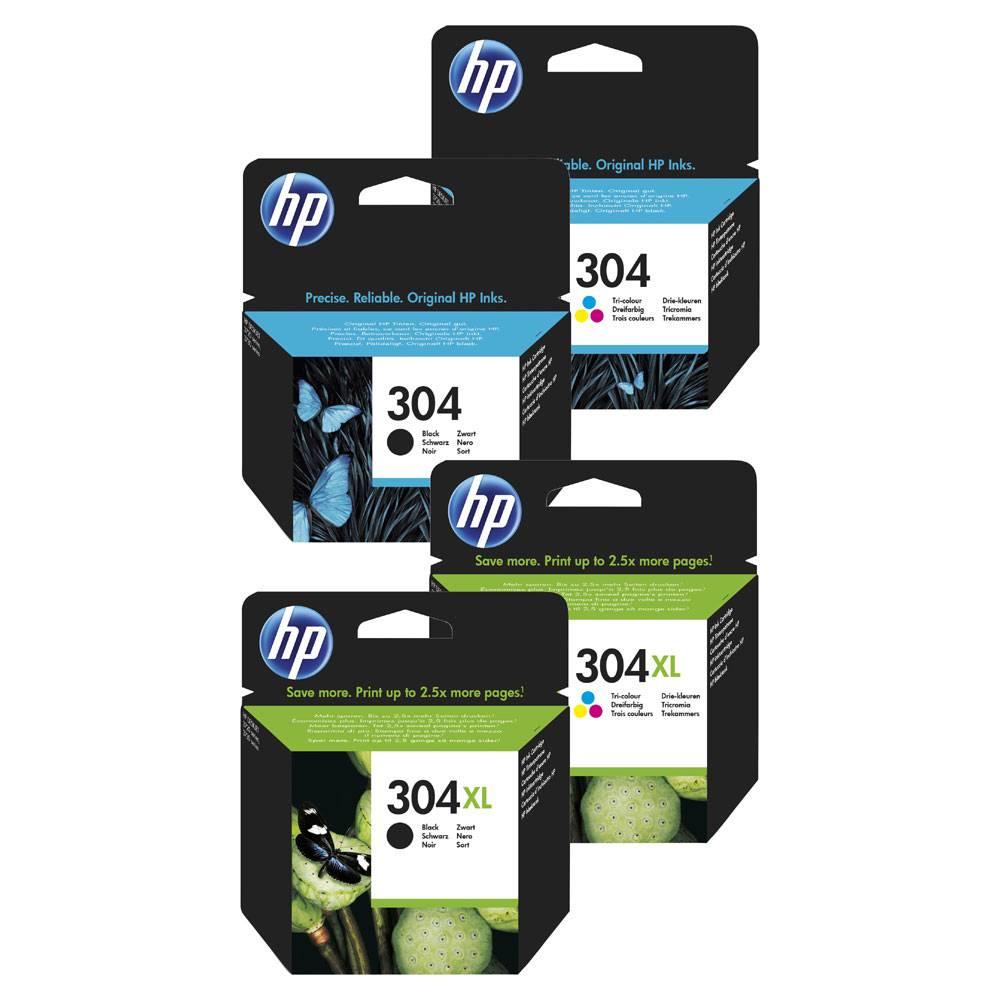cartouches HP jet d'encre 304
