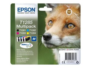 cartouches epson T1281.82.83.84 renard