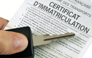 certificat d'immatriculation ex carte grise