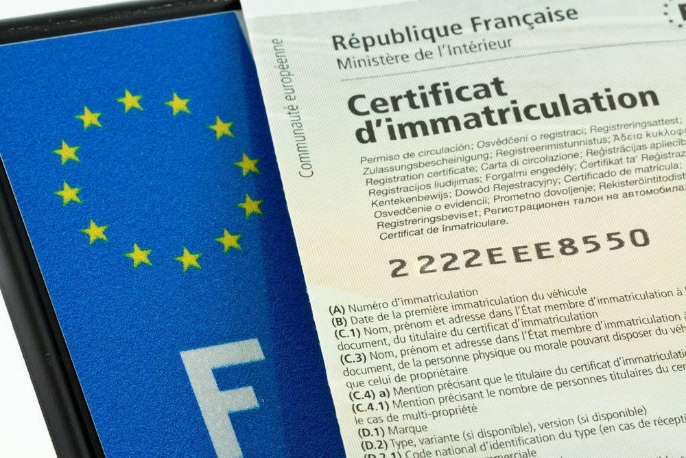 Documents nécessaires et obligatoires ( Cerfa ) pour établir une carte carte grise à Hyères dans le var
